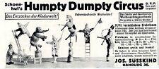 Schoenhut's petit poucet Circus historique annonce 1913