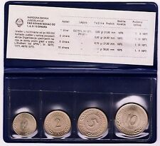 National Bank of Yougoslavia - COMMEMORATIVE FAO COIN 1970-1976 UNCIRCULATED SET