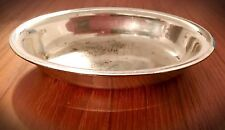 Rare Antique DW Haber & Son NY Silverplate Hotel Tip Tray