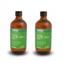 Melrose Organic Aloe Vera Juice 1L (2 x 500mL)