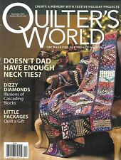 Quilter's World Magazine Festive Holiday Projects Christmas Quilts Pets Necklace