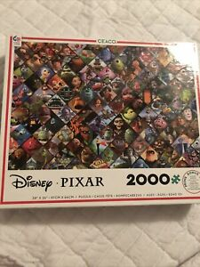 Disney Pixar 2000 Piece Ceaco Jigsaw Puzzle