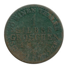 KM# 410 - Silber Groschen - Friedrich Wilhelm III - Prussia - Germany 1824D Poor