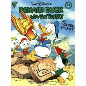Gladstone Walt Disney's Donald Duck Adventures: The Golden Helmet #13 - NEW