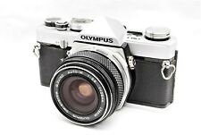 【Excellent+++++】Olympus OM-1 SLR + OM-System G. Zuiko W 28mm f3.5 from Japan C95