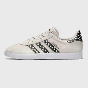 Adidas Gazelle Women's Tennis Shoe Athletic Suede Sneaker Grey Casual Trainers
