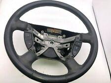 02-05 Ford Explorer Steering Wheel Assembly Black Leather OEM