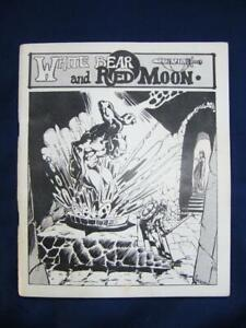 White Bear And Red Moon 1st Edition 2nd Print - Greg Stafford - Chaosium VG