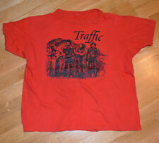 RaRe *1974 Traffic* vtg prog rock concert tour t-shirt (Xl) 70's Steve Windwood