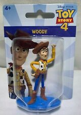 NEW MATTEL DISNEY TOY STORY 4 WOODY MINI 2 INCH CAKE TOPPER / COLLECTOR'S FIGURE