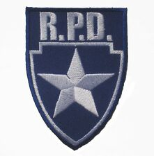 """R.P.D. Police Department Shield Resident Evil Patch badge 6x8.5 cm 2.4""""x3.2"""""""