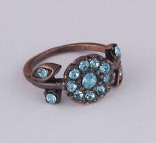 Modeschmuck-Ringe mit Strass 54 (17,2 mm Ø)