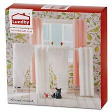 Lundby Smaland 60.4036 Gardinen Set für Puppenhaus in 1:18