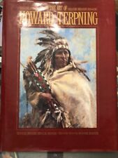 The Art of Howard Terpening Book  copyright 1992 VG-Excellent condition