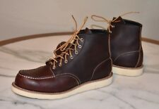 MEN'S RED WING CLASSIC MOC 8138 BROWN BRIAR LEATHER BOOTS SZ 11.5 D MADE IN USA