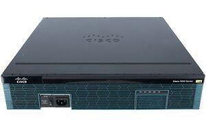 NEW Cisco C2921-VSEC/K9 2U 3x 1GB- Ports Router ISR G2 Voice Security Bundle