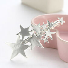 Women Gold Silver Star Hair Clip Barrette Hairpin Bobby Pin Jewelry Popular New