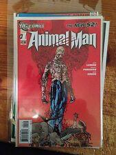 Animal Man No. 1 the new 52 2nd print