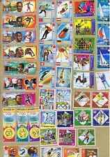 Guinea Equatoriale selezione francobolli tematica sport (cod.101gb)