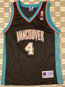 Vancouver Grizzlies Stromile Swift YOUTH LARGE 2000-01 champion jersey RARE NBA