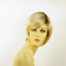 short wig for women very clear golden blond ref: CECILIA ys PERUK