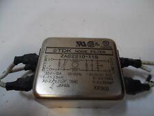 TDK EMI Filter, 250V 10A 50/60Hz, ZAG2210-11S