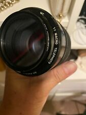 Near Mint! Vivitar 100mm f2.8 Macro 1:1 manual focus lens Nikon AIS mount