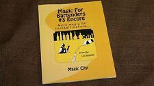 Magic for Bartenders #3 Encore by Leo Behnke Magic