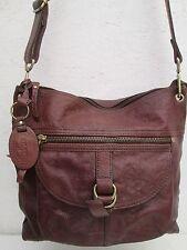 AUTHENTIQUE sac à main  en cuir  FOSSIL  TBEG vintage bag --