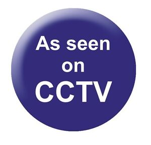 As Seen on CCTV 25mm Button Badge funny slogan