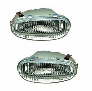 Pair of Left Right Front Bumper Fog Drive Light Lamp for DAEWOO Lanos 97-08