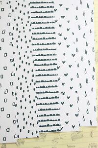 Black & White Patterns Card Stock 250gsm pretty print monochrome scrapbook paper