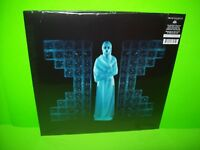 Drab Majesty The Demonstration BLUE/WHITE Vinyl LP Record Goth Synth 200 MADE