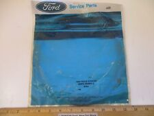 """2 PCS FORD 1986/89 TAURUS & SABLE W/ATX TRANS. """"RING"""" REVERSE CLUTCH, .102 thick"""