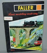 Old Faller Model Railway Catalogue -- 841/E.