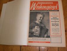 ORGINAL,ILLUSTRIERTER WOCHENSPIEGEL - 1956 -1 bis 52 ,4 JAHRGANG,GEBUNDEN