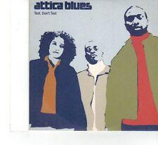 (FX45) Attica Blues, Test. Don't Test - 2000 DJ CD