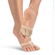 1Pair Foot Thongs Toe Undies Half Sole Ballet Lyrical Dance Shoes