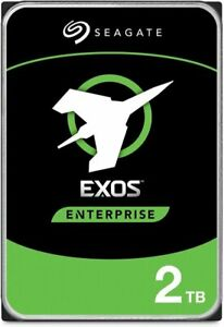 "NEW 2TB Seagate Exos 7E2 3.5"" SATA III 7200RPM 128MB-Csh Internal HardDisc Drive"