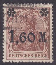 Alemania Deutsches Reich 1920 Mi. Nr. 154 ia temprano la inflación overpt. utilizado geprüft