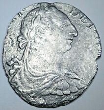 1700's El Cazador Shipwreck Spanish Silver 8 Reales Antique Colonial Pirate Coin