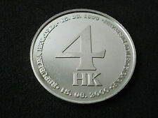 "Croatia, ""Croatian Collector - Rijeka"" silver, proof medal, 2000; rare"