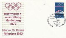 Heidelberg  schöner SST zur Olympiade 1972