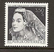 AUSTRIA # 811 MNH EMBROIDERY INDUSTRY