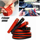 4 Gauge Heavy Duty Jumper Battery Booster Cables For Car Battery Jumper