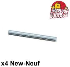 Lego Technic- 4x Axe Axle 7 gris clair/light bluish gray 44294 NEUF