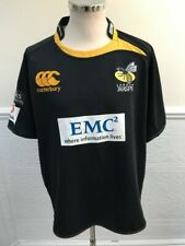 Canterbury CCC London Wasps Rugby 2010-2011 Home Black SHIRT JERSEY SIZE XXL