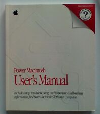 Apple Power Macintosh 5500 Users Manual