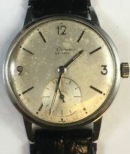 Vintage Girard Perregaux Mechanical Manual Wind Sea Hawk Watch