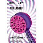 Bed Head CurliPops 1875-Watt Pro Curly Hair Dryer Ionic Diffuser Handheld Purple